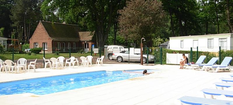 Une piscine chauffée 28° à votre disposition.